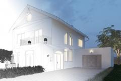 Planung von Haus mit CAD und 3D